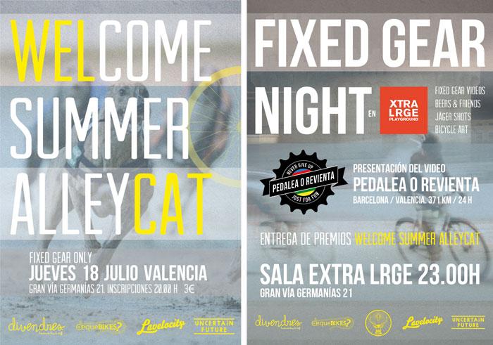 """Welcome summer """"Alleycat"""""""